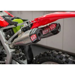 Yoshimura RS9 Exhaust Carbon Fibre Right Side End Cap Kit Honda CRF 450 R 2018