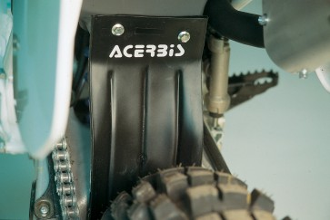 Acerbis Airbox Mud Flap (Black)