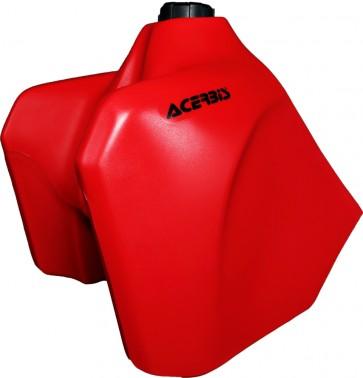 Acerbis Fuel Tank Red W/Black Cap 5.8 Gallon