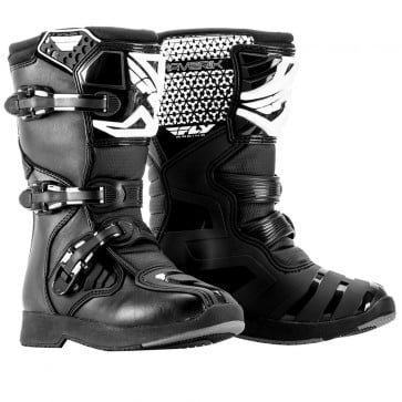 2018 FLY Racing Youth Maverik MX Boots Black