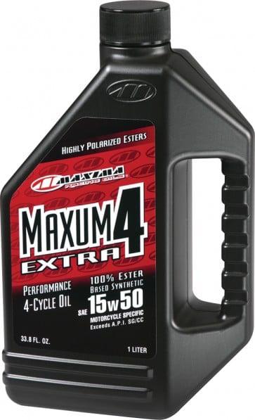 Maxima Maxum 4 Extra 4-Cycle Oil 10W-60 1Lt