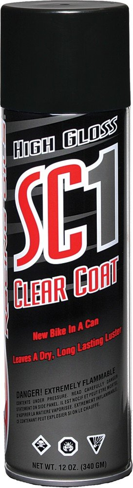 Maxima High Gloss SC1 Clear Coat Silicone Spray 12OZ