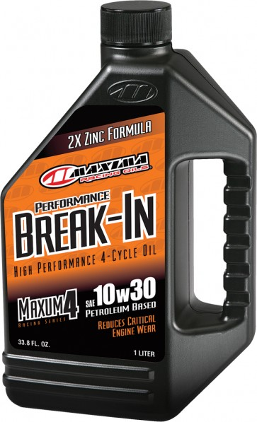 Maxima Maxum 4 Break-In Hi-Perf. 4-Cycle Oil 10W-30 1L