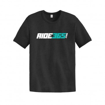 RIDE365 Mens Classic Tee - Teal Logo