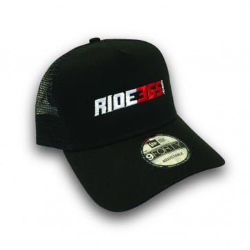 RIDE365.com Trucker logo Hat - Red