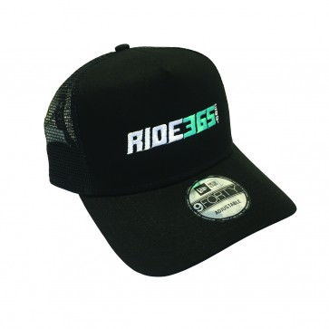 RIDE365.com Trucker logo Hat - Teal
