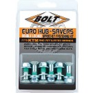 BOLT SPROCKET FASTENERS DOUBLE LOCKED SPROCKET BO
