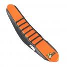 Black/Orange with Black Ribs