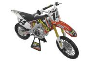 New Ray Toys Kevin Windham 2012 CRF450 Geico 1:6 Scale