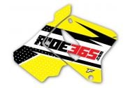 RIDE365.com Radiator Shroud Graphics Suzuki