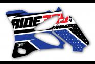 RIDE365.com Radiator Shroud Graphics Yamaha