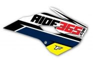RIDE365.com Radiator Shroud Graphics Husqvarna