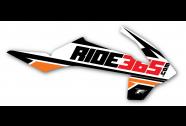 RIDE365.com Radiator Shroud Graphics KTM
