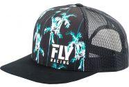 Fly Racing Paradise Hat OSFA Black/Teal