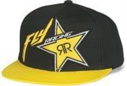 Fly Racing Rockstar Hat OSFA Black/Yellow