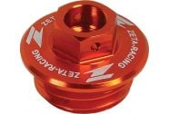 Zeta Oil Filler Plug (Orange)