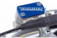 Works Connection Billet Front Brake Cover Blue