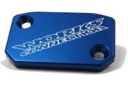 Works Front Brake Cover (Blue)