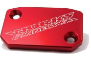 Works Front Brake Cover (Red)