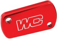 Works Connection Rear Brake Cover (Red)