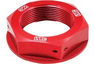 Works Connection Steering Stem Nut (Red)