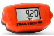 Trail Tech Tach Hour Meter Orange