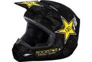 2018 FLY Racing Elite Rockstar Helmet Matte Black
