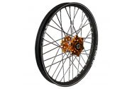 Talon Wheel 1.60X21 Orange Hub Black Rim