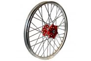 Talon Wheel 2.15X18 Red Hub Sil Rim