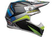 Bell Moto-9 Flex Helmet, Pro Circuit Replica 19 Gloss Black/Green
