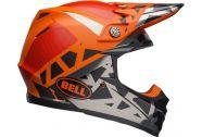 Bell Moto-9 MIPS Helmet, Tremor Matte/Gloss Black/Orange/Chrome