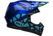 Bell Moto-9 MIPS Helmet, Tremor Matte/Gloss Blue/Black
