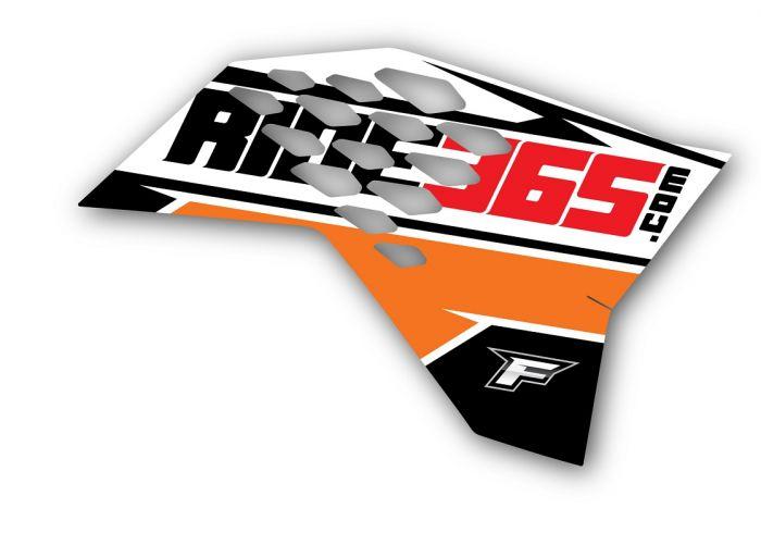 RIDE365 com Radiator Shroud Graphics KTM