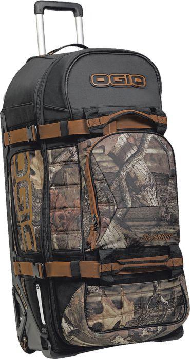 Ogio Rig 9800 Rolling Luggage Bag Mossy Oak 34X165X1525