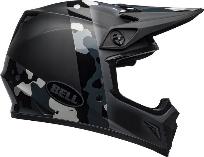 Bell MX-9 MIPS Off-Road Motorcycle Helmet Presence Matte//Gloss Black Titanium Camo, X-Large