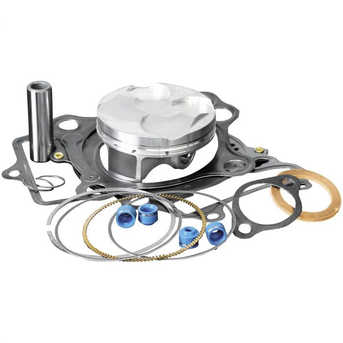 Wiseco PK1241 77.00 mm 12.7:1 Compression Motorcycle Piston Kit with Top-End Gasket Kit