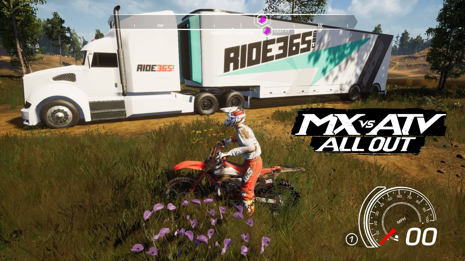 RIDE365 com featured in MX vs ATV All Out